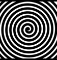 volute spiral concentric lines circular motion vector image