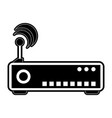 wifi router icon image vector image vector image