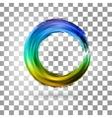 Bright splashes vector image