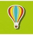 balloon air design vector image vector image