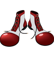 Boots for the clown Cartoon vector image