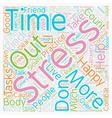 Combat Stress 7 Practical Methods text background vector image vector image
