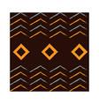 ethnic handmade ornament tribal seamless pattern vector image vector image