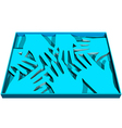 human abstract hands vector image
