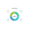 modern infographic options template vector image vector image