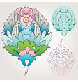 Ottoman floral motif vector | Price: 1 Credit (USD $1)