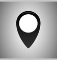 point map location icon logo vector image