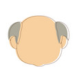 portrait grandfather man family person vector image vector image