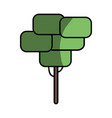 tree ecology to preservation and care the vector image vector image