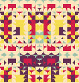abstract colorful geometric design pattern can vector image vector image