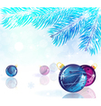 Abstract New Year background vector image vector image