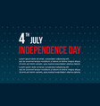 collection stock celebration independence day vector image vector image