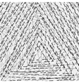 Distressed Triangle Texture vector image vector image