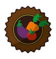 healthy vegetables design vector image vector image