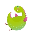 Kids Dragon flying fun cute cartoon vector image vector image