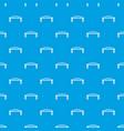 metal bridge pattern seamless blue vector image vector image