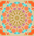 seamless pattern in arabic style muslim eastern vector image vector image