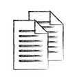 sketch draw sheet of paper vector image