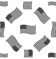 american flag icon seamless pattern flag of usa vector image vector image