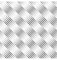 geometrical seamless diagonal square pattern vector image vector image