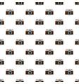 photo camera pattern vector image
