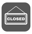 The closed icon Locked symbol Flat vector image vector image