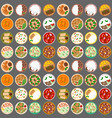 traditional thai food asian cuisine thailand vector image