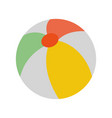 beach ball icon image vector image