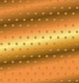Abstract Golden Dotted Background vector image vector image