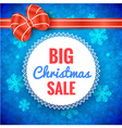 Big Christmas Sale Frame vector image vector image