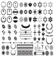 Big set of design elements1 resize vector image vector image