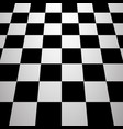 chess board background vector image