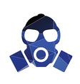 respirator icon Abstract Triangle vector image vector image