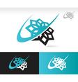 Swoosh Snowflake Logo Icon