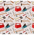 Woodworking tools pattern vector image