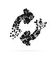 Abstract Creative concept icon of arrows vector image vector image