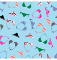 bikini swimsuit pattern eps10 vector image