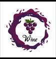 bubble of wine icon image vector image vector image