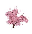 Cherry Blossom Tree2 vector image