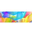 gradient abstract space multicolored background vector image vector image