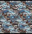 graffiti orange bright geometric seamless pattern vector image vector image
