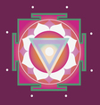 spring yantra for health vector image vector image