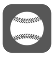 The baseball icon Game symbol Flat vector image vector image