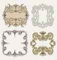 victorian frames vector image vector image
