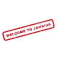 Welcome To Jamaica Rubber Stamp vector image vector image
