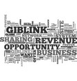 what you should know about the giblink income vector image vector image