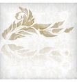 floral abstract card vector image