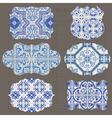 Vintage Tiles Design elements vector image