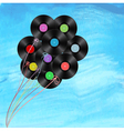 vynil balloons vector image