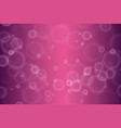 abstract defocused circular pink bokeh lights vector image vector image